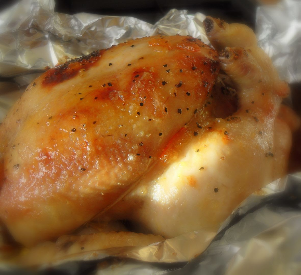 The English Kitchen: Ginger Marmalade Roasted Chicken