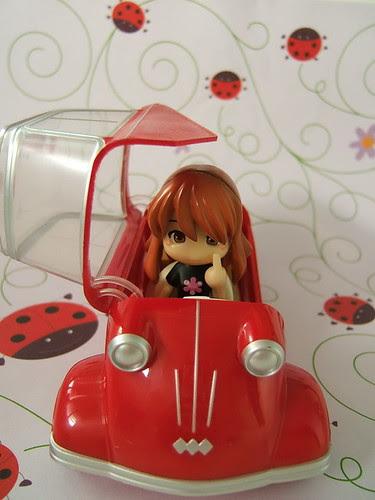 Asahina driving