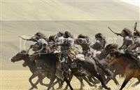 The Mongols were gifted horsemen.