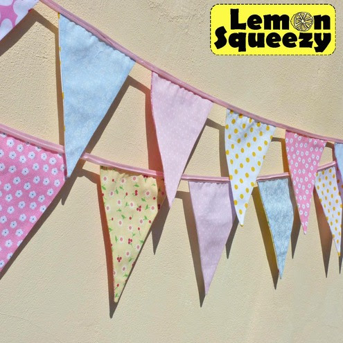 Bunting Kit - Lemon Squeezy