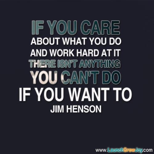 Muppet Quotes Life Quotesgram: Inspirational Quotes Jim Henson