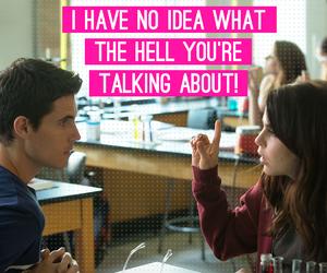"It's hard to understand ""jock speak."" The DUFF - in theaters now: http://bit.ly/DUFFTix"