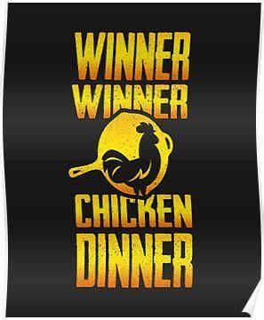 winner winner chicken dinner poster winner