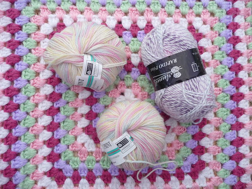 Thank you for the donation of yarn I'm very grateful to you.