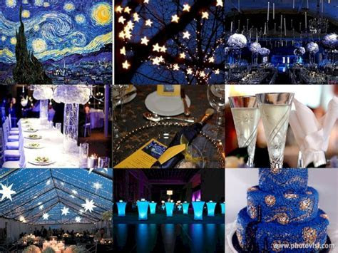 Wonderful Starry Night Theme Ideas For Your Wedding
