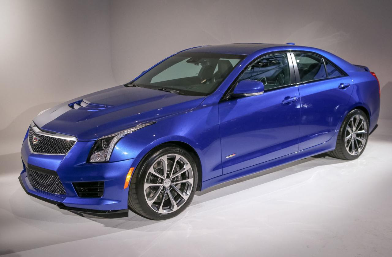 Cadillac launches 2016 ATS-V Sedan and Coupe - Speed Carz