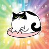 Tien Le - Fat Lazy Cat - Fx Sticker artwork