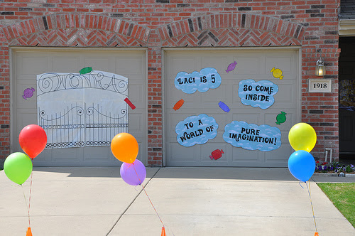 Willy Wonka and the Chocolate Factory Birthday Party Ideas   Photo ...