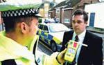 Police breatherliser