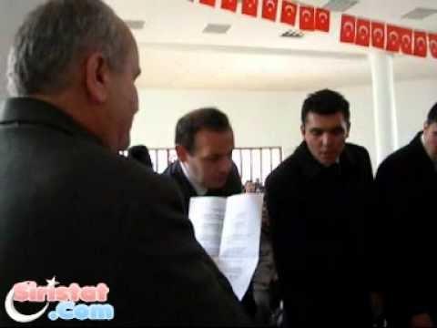 Derviş Mustafa Öztunç İ.Ö.O Öğretmeni Salih Şahin Yönetiminde Yemin Töreni