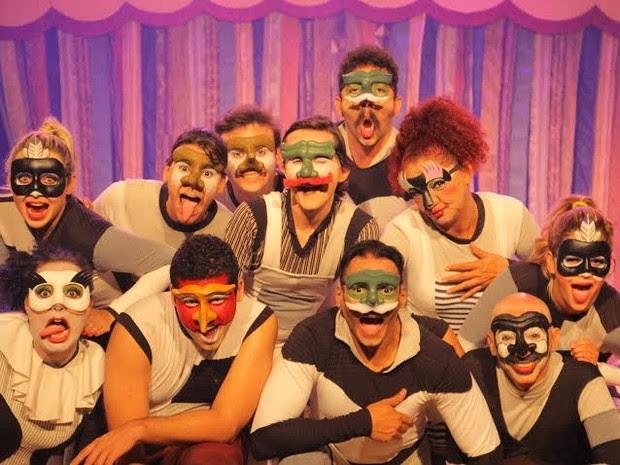 Hoje tem espetáculo abre temporada no Teatro Luiz Mendonça (Foto: Markemídia Imagem/Divulgação)