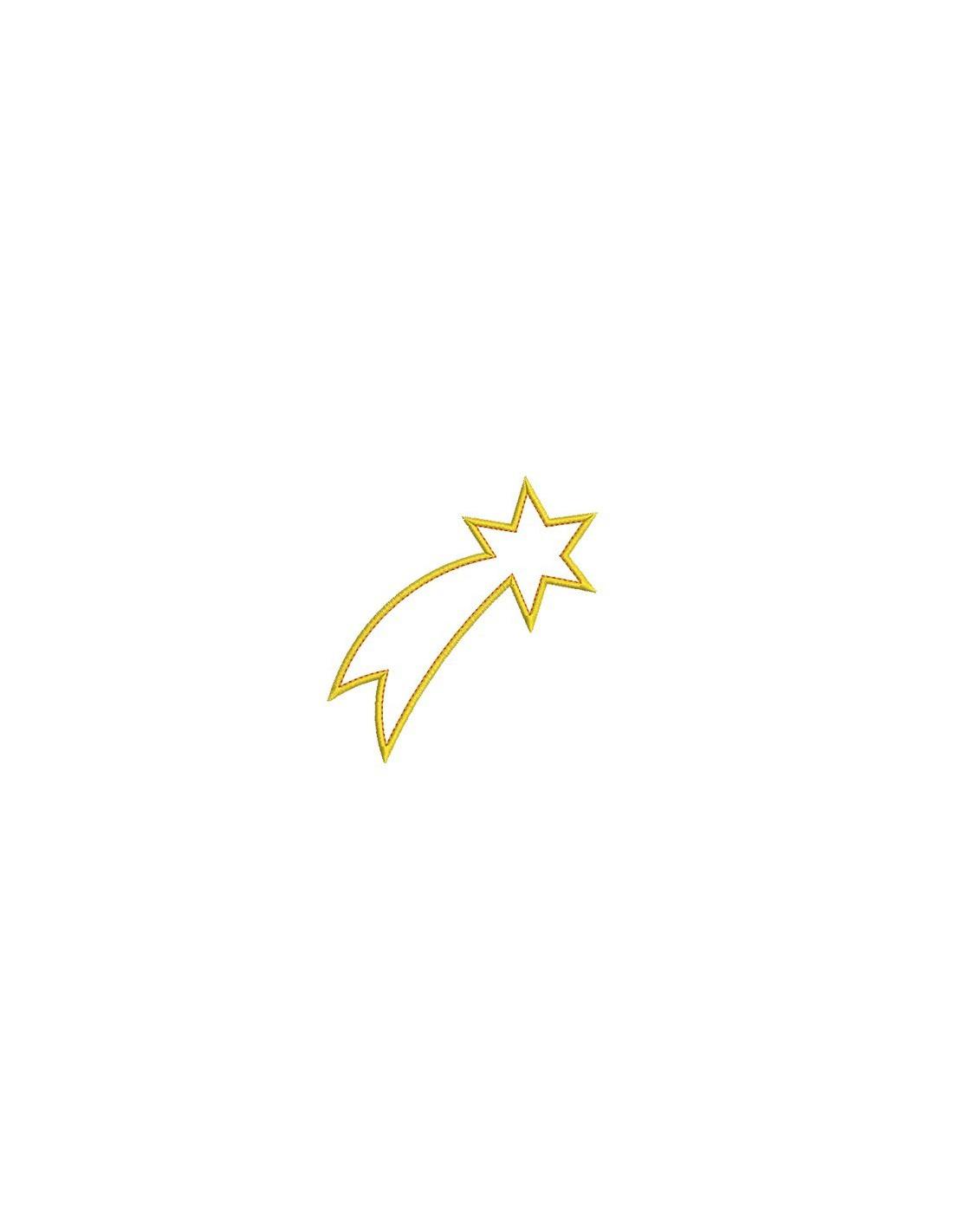 Modèle Et Motif étoile Filante Mittvidimerga