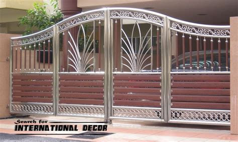 main gate design custom driveway gates home designs