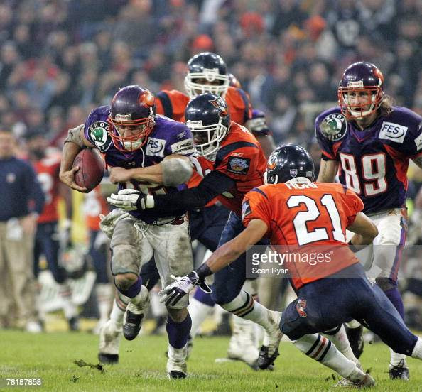Nfl Europe World Bowl Xiv Stock Photos and Pictures  Getty Images