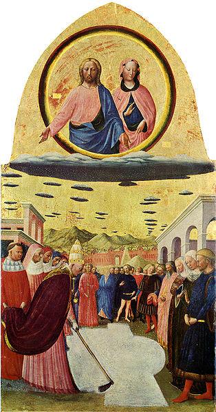 File:Masolino, fondazione di santa maria maggiore.jpg