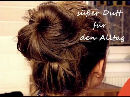Anleitung Zur Hochsteckfrisur Dutt Bilder Orientalchicse
