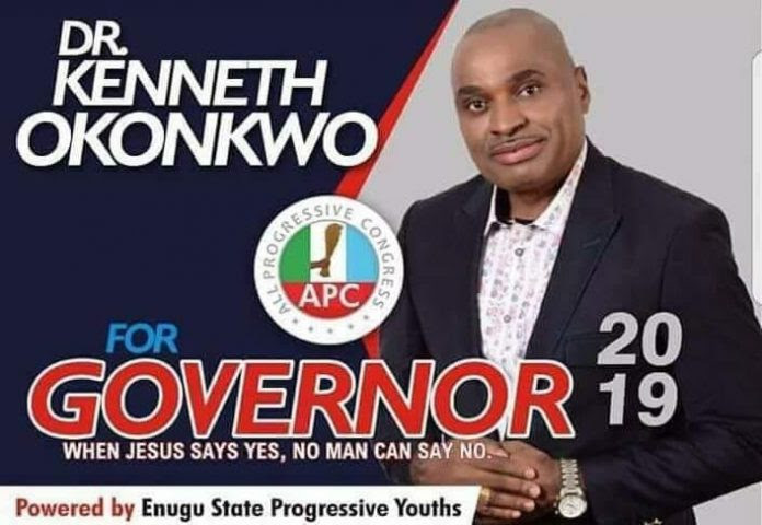 Enugu Governorship: Kenneth Okonkwo Disqualified By APC After This Happened