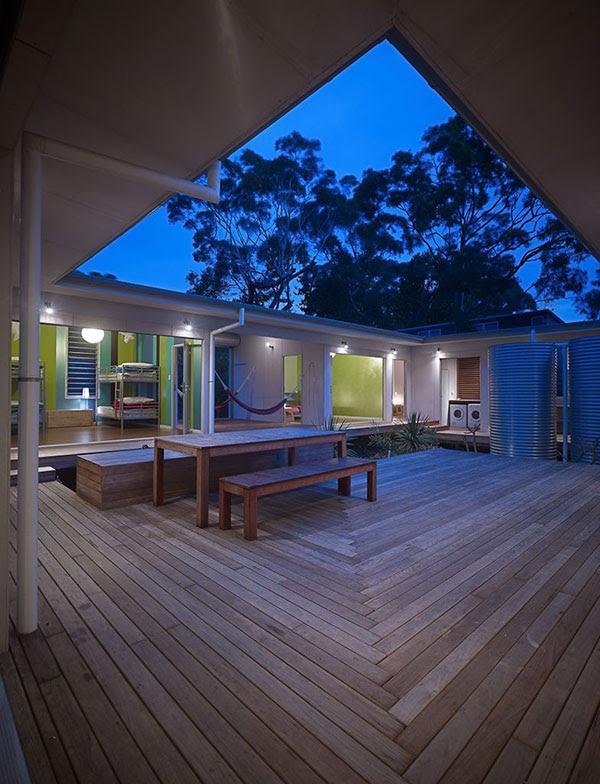 House Plans – Idyllic Interior Courtyard Modern House Designs ...
