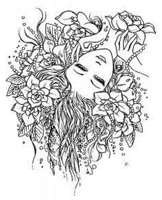 Cespuglio Di Rose Polyantha Disegno Da Colorare