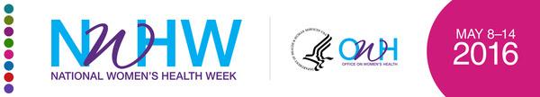 National Women's Health Week 2016