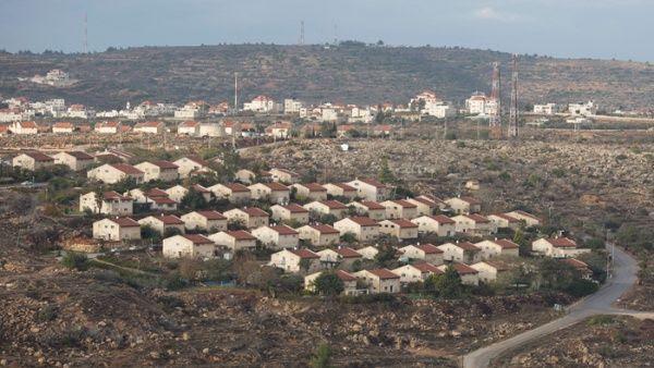 Asentamiento ilegal judío de Ofra construido por Israel