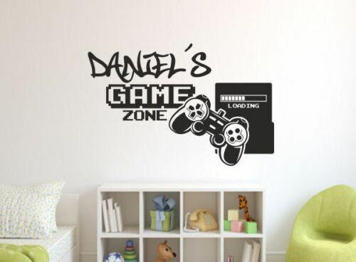 Wandtattoos Wandbilder Wandtattoo Wand Aufkleber Zocken Game Kontroller Gamer Ps Konsole 169 Name Mobel Wohnen Blog Vr Com Br