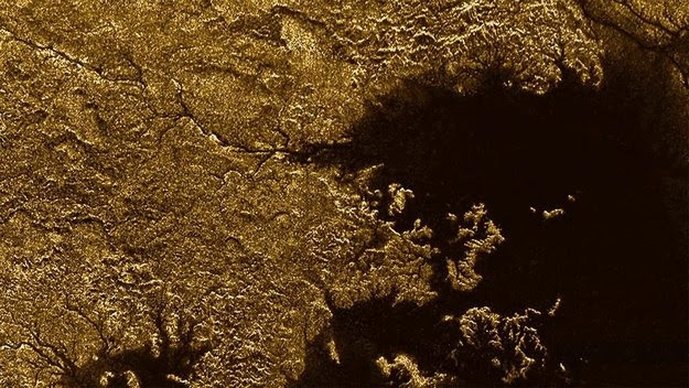 Methane-flooded canyons on Titan