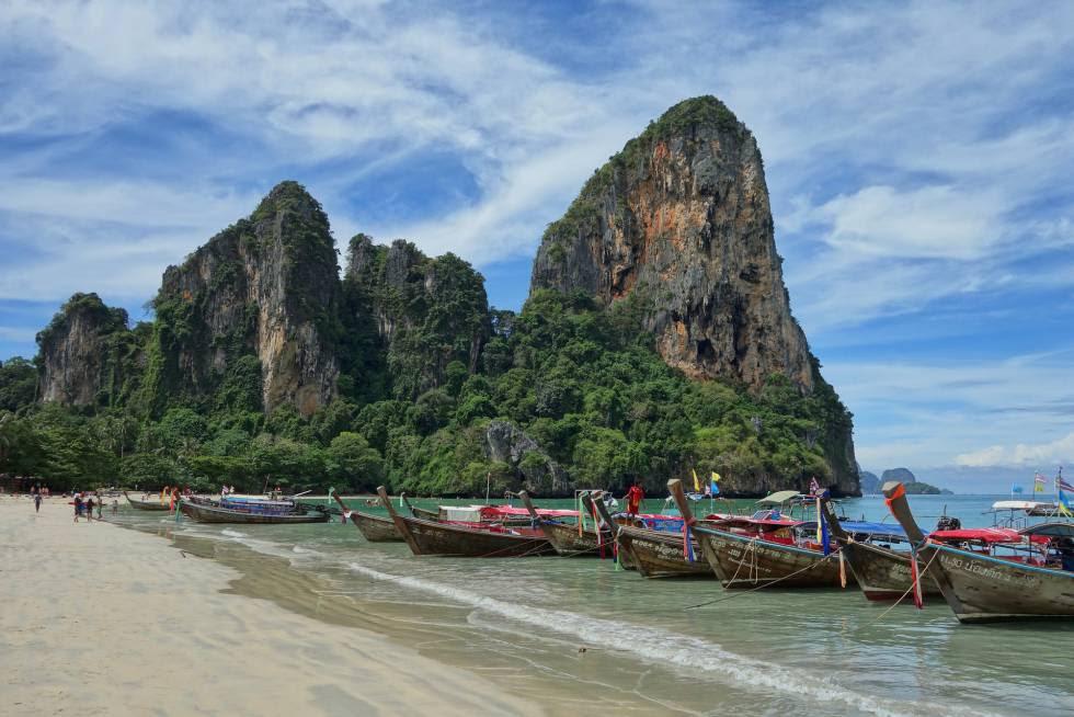 Tailândia, um dos principais receptores de turismo mochilero.