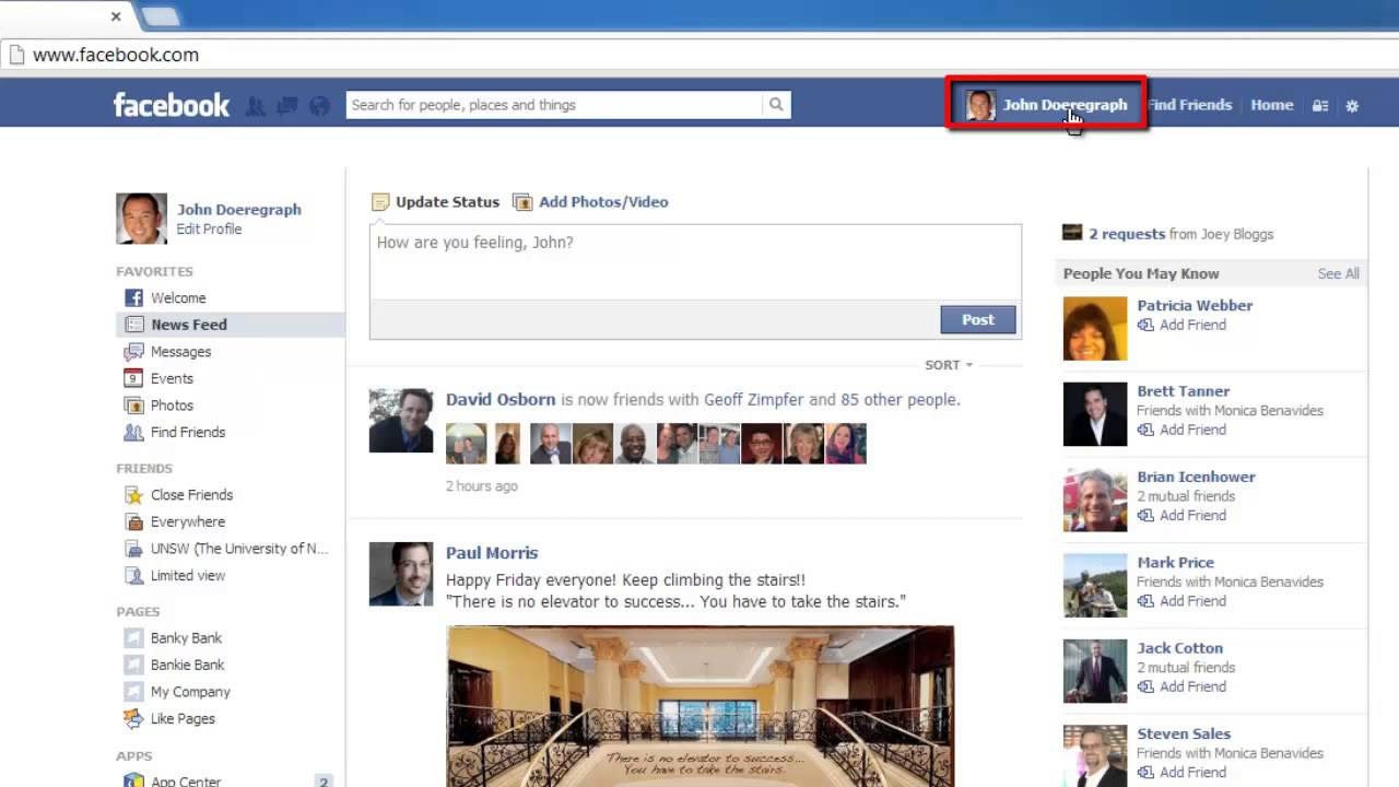 How to Get Facebook Post Url - YouTube