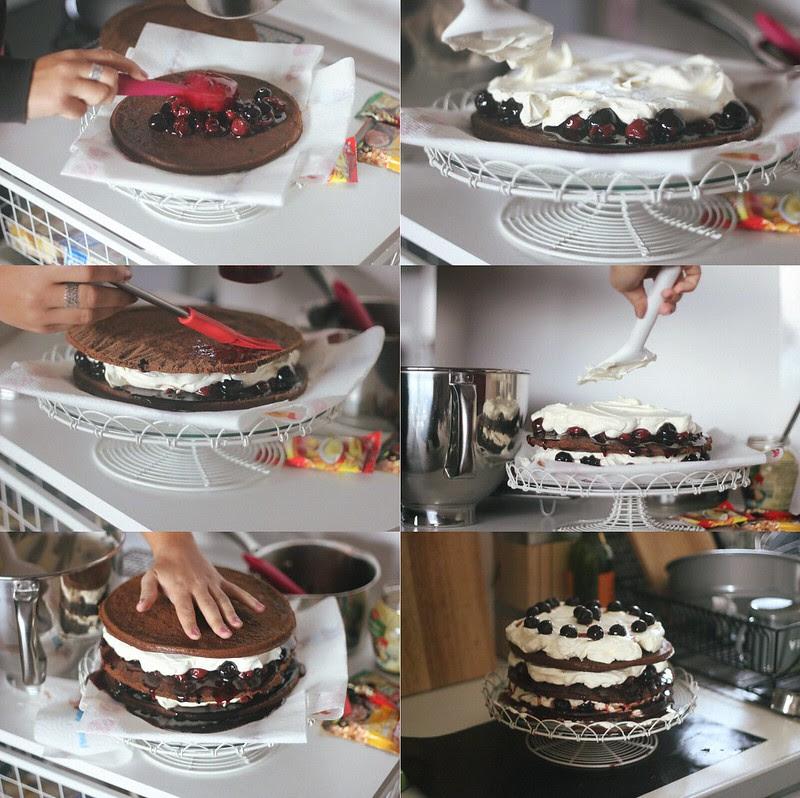 magda's black forest cake