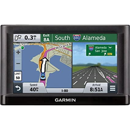 Garmin nüvi 55LM GPS Navigator System with Spoken Turn-By-Turn Directions, Preloaded Maps and Speed Limit Displays (Lower 49 U.S. States)
