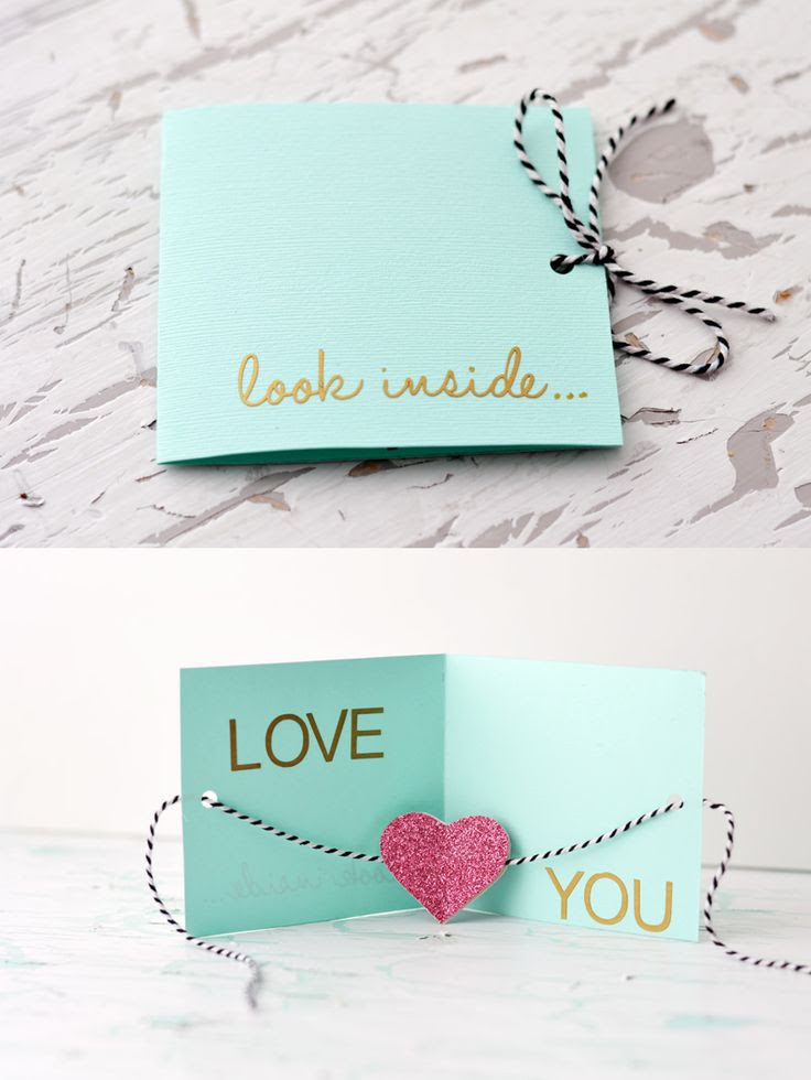 DIY Card » Little Inspiration...this is cute.
