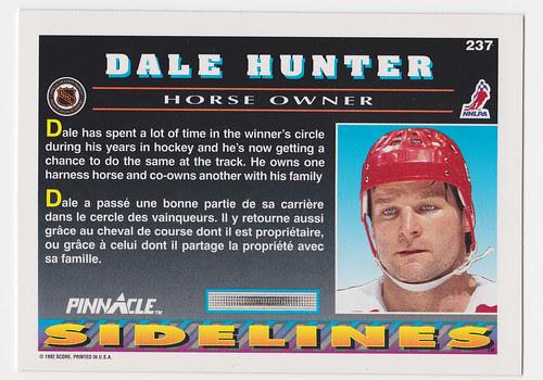 Sideline - Hunter back