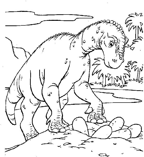 Ausmalbilder Dinosaurier 2 Ausmalbilder Tiere