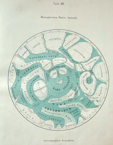 Hemispherum Martis Australe - Giovanni Schiaparelli