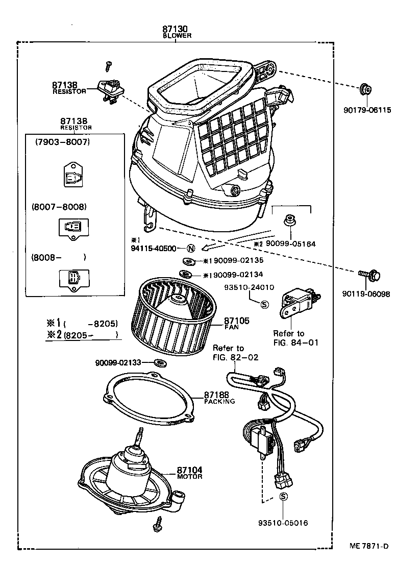 toyotum heater blower motor wiring diagram