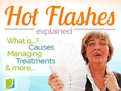 Hot Flashes Symptom Information | 34-menopause-symptoms.com