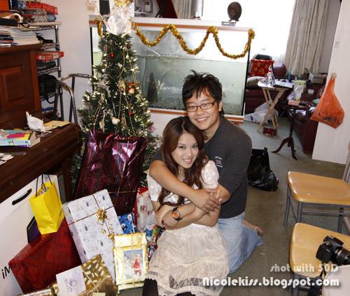 casey and me christmas 2009