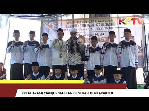 YPI Al Azami Cianjur Siapkan Generasi Berkarakter