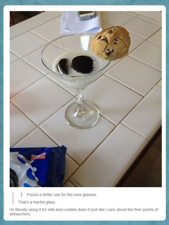 wine glass cookie, wine glass oreo, reddit cookie martini, debauchery, funny, cookie humor