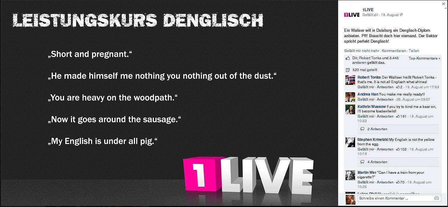 Glückwünsche Geburtstag Denglisch Wunsch Zum Geburtstag