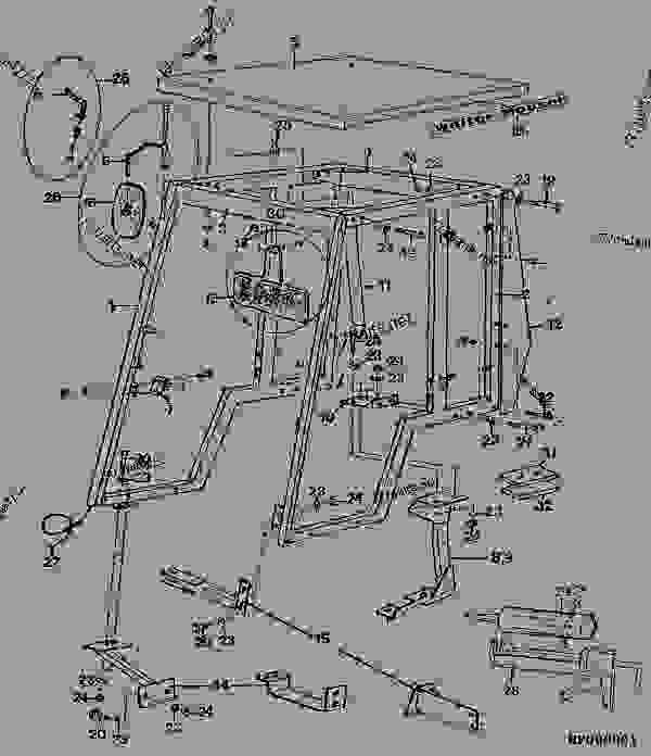 John Deere 420 Parts Diagram