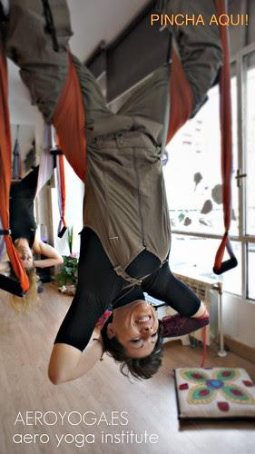 Anti Gravity Yoga (PIlates Anti Gravedad) Clases en Madrid, Baleares, Mallorca