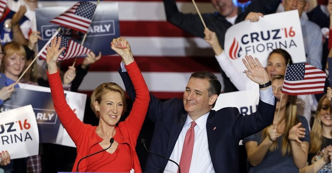 Five Reasons Ted Cruz Picked Carly Fiorina For VP