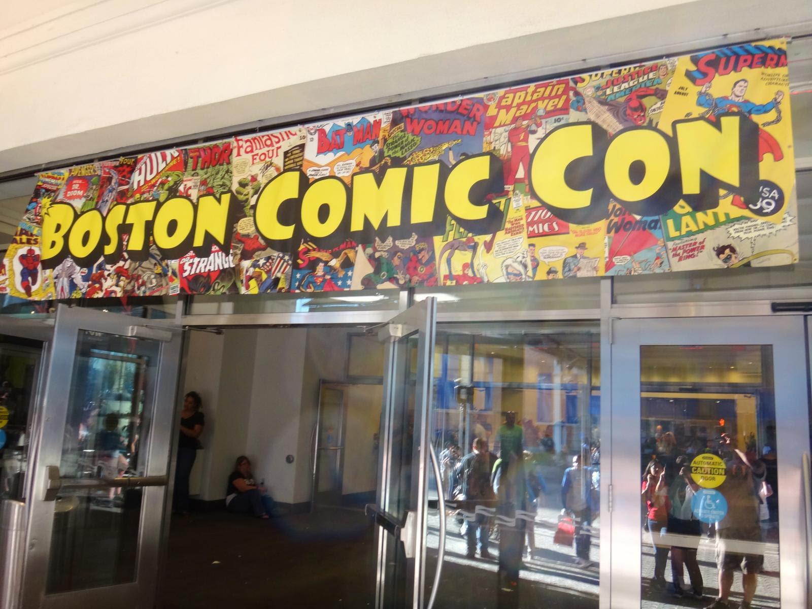 Boston Comic Con 2013