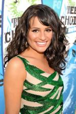 Lea Michele hair style at Teen Choice Awards