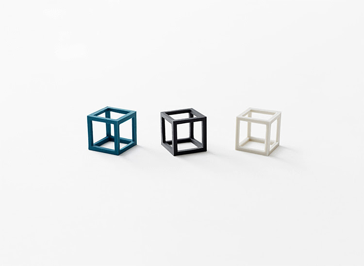 Cubic Rubber Bands by Nendo stationery rubber bands office