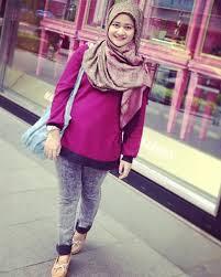 Stylish dengan Padu Padan Hijab Simple Ala Tantri Havid | Jual ...