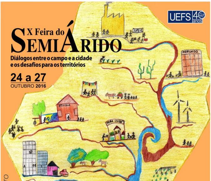 Representantes de 27 municípios da Bahia participam da Feira do Semiárido da Uefs