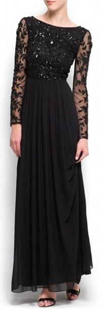 Kıymetlendirilmiş şifon elbisesi, 159,99 £, Mango